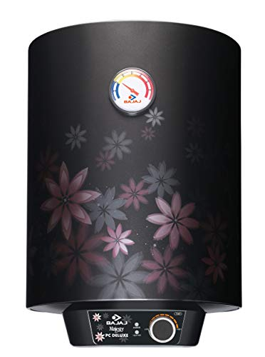 Bajaj Majesty PC Deluxe Storage 15 Ltr Vertical Water Heater, Multicolor, 3 Star