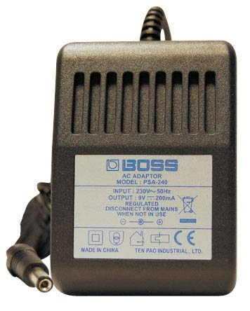 Boss PSA-230ES Power Supply For Boss Compact Effects Pedals - Ultra Clean Power - New Version Of PSA-230 E