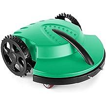 oneConcept Garden Hero robot cortacésped (3 horas de autonomía, velocidad de corte: 20 m por minuto, apto jardines hasta 1.500 m², altura de corte: 3 o 4 cm) - verde