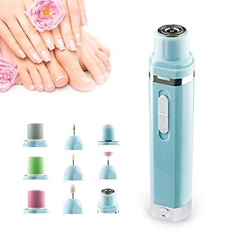 LLLZM Trapano Unghie Fresa Unghie Elettrica Portatile Kit Nail Drill Art Professionale per...