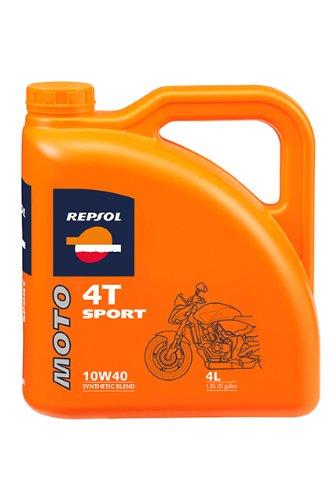 Aceite moto REPSOL MOTO SPORT 4T 10W-40 1L