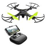 Drone con Telecamera Potensic Quadricottero Telecomando WIFI FPV...