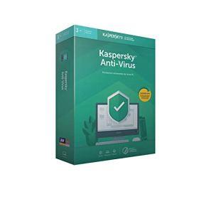 Kaspersky Anti-Virus 2019 (3 Postes / 1 An)|2019|3 appareils|1 AN|PC|Téléchargement
