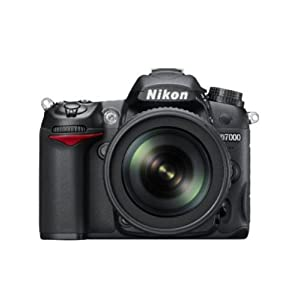 Nikon D7000 16.2MP Digital SLR Camera (Black) + AF-S 18-105mm VR II Kit Lens + Card + Camera Bag