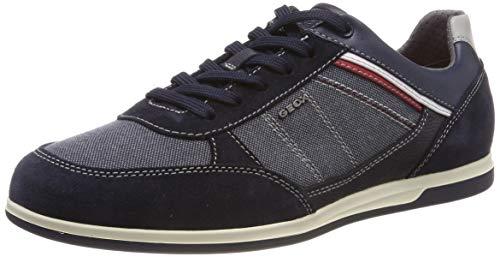 Geox Herren U Renan B Sneaker Blau (Navy C4064) 44 EU