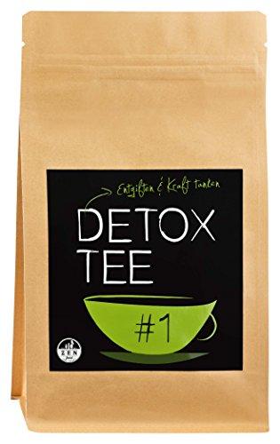 DETOX TEA | cura di 28 giorni - integratore naturale per dieta, disintossicazione e purificazione | confezione 100g - qualità premium
