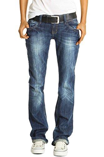 Bestyledberlin Damen Jeans Hosen, Baggyjeans j137p 40/L