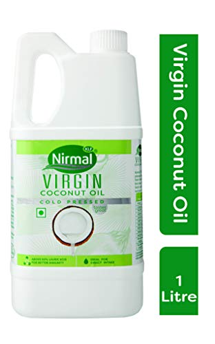 KLF Nirmal Cold Pressed Virgin Coconut Oil, 1L