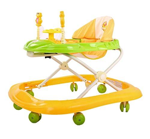 Baybee Smartwitty Stylish Baby Walker (Yellow)