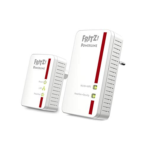 AVM FRITZ! Powerline 540E WLAN Set International - Adattatore / estensore della linea di...