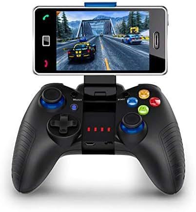 STOGA Mobile Game Controller, Wireless Gamepad Handy Controller Kompatibel für iOS und Android Unterstützen Online Aktion