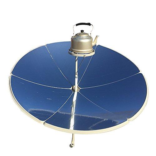 HUKOER Cucina Solare 1.5m Diametro 1800W fornello Solare Portatile parabolico con Maggiore...