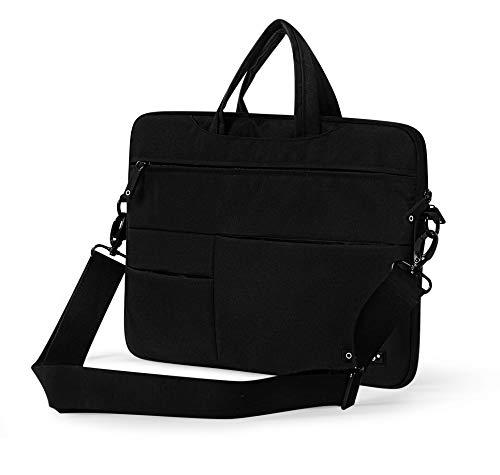 TGK Waterproof Protective Laptop Sleeve Case Bag for 15.6 Inch Lenovo ThinkPad/Ultrabook (Velvet - Black)