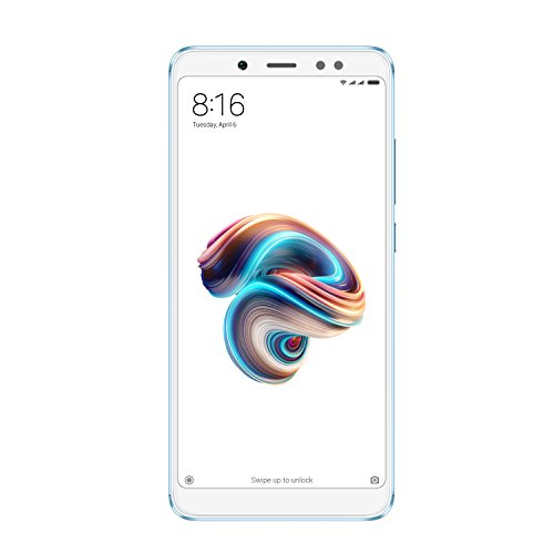 Xiaomi Redmi Note 5Smartphone, 5,99Pantalla Completa (18: 9), Snapdragon 636Octa Core 3GB + 32GB, Doble cámara, Azul