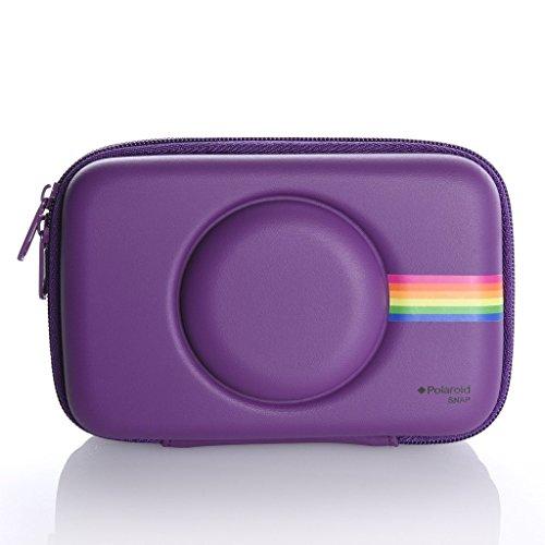 Polaroid - Funda protectora EVA para la cámara instantánea digital Polaroid Snap (Purpura)