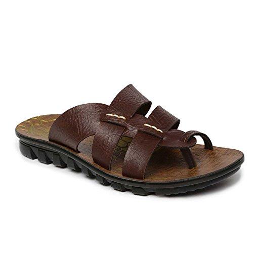 Paragon Men's Brown Sandals-7 UK/India (41 EU)(PU6726-20)