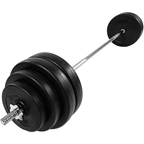 MOVIT® Langhantel Set 60,5 kg Stange