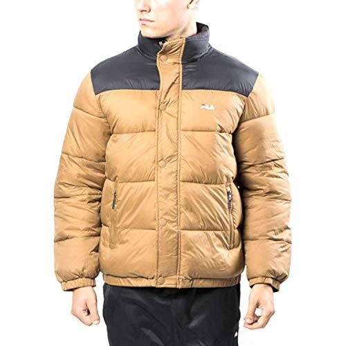 FILA. Piumino Men Raith Puff Jacket Cammello 682371 J87