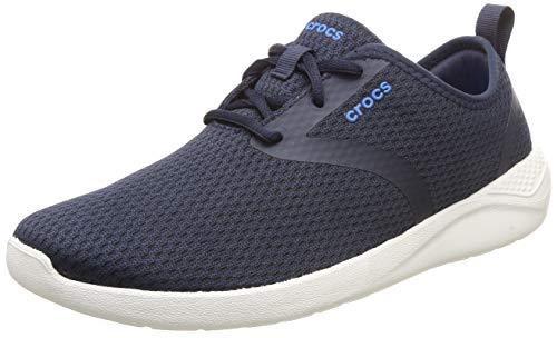 crocs Men's LiteRide Mesh Lace M Navy Sneakers-8 UK (M9) (205678-462-M9)