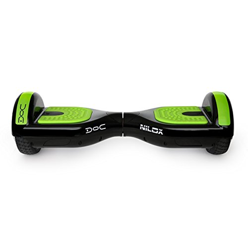 Nilox Self Balance Scooter Elettrico Doc con Certificazione UL 2272 borsa inclusa, Nero