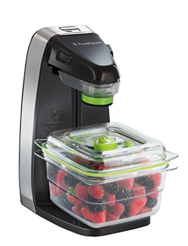 FoodSaver 10X, Macchina per Sottovuoto Salva Freschezza, Nero