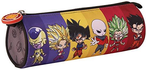 Clairefontaine Dragon Ball Astuccio, 22 cm, Grigio (Gris)