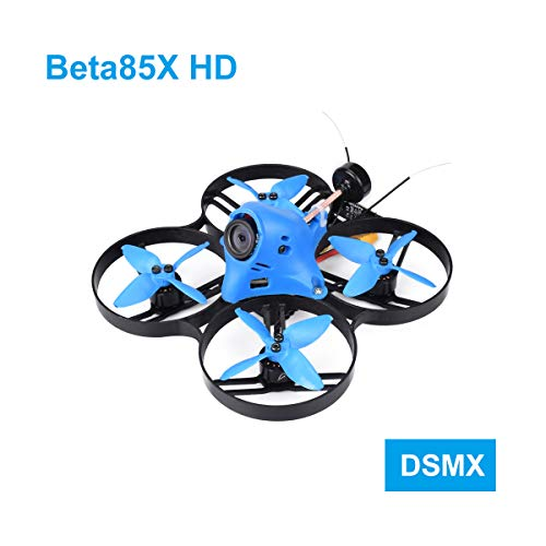 BETAFPV Beta85X HD 4S DSMX Brushless CineWhoop Drone with F4 V2 FC BLHeli_32 16A ESC Caddx Turtle V2...