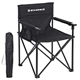 SONGMICS Campingstuhl, klappbar, Klappstuhl, bis 250 kg belastbar, Outdoor Stuhl