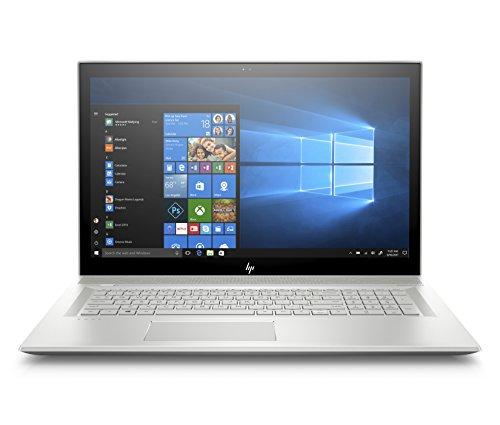 HP Envy 17-bw0011nl, Notebook pc, i7-8550U, RAM 8 GB, SSD 512 GB, 17.3' FHD IPS, Argento naturale...
