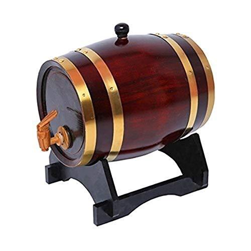 HHGO Botte di Vino Botte di Vino in Legno for La Casa, 3L, 5L, Cucina for Feste in Casa Bar...