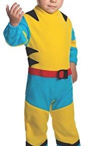 Disfraz de pequeño Lobezno Marvel para niño