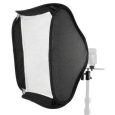 Walimex 16785 - Ventana de luz para iluminación fotográfica (60 x 60 cm, incluye difusor y bolsillo), negro