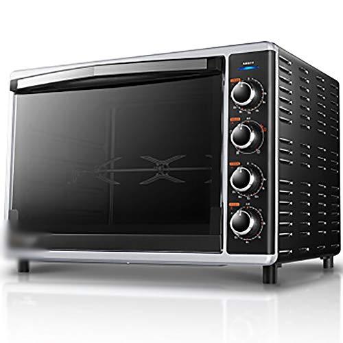 QPSGB Forno-Mini-Forno con Grill Forno a Gas da 42 Litri, Riscaldamento rapido, funzioni di Cottura,...