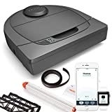 Neato Robotics Botvac D304 Connected Ultra Pack - Self-Docking Automatic Vacuum Cleaner with Large Dustbin - Alexa-ready Robot Vacuum with Mapping