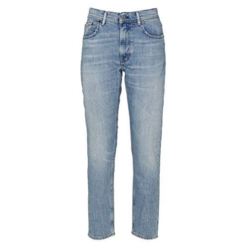 ACNE STUDIOS Damen A00007lhb Hellblau Baumwolle Jeans
