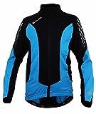 Polaris Fang Long Sleeved Cycling Jersey Kids - Cyan/Black, Medium