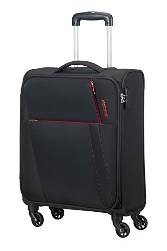 AMERICAN TOURISTER Joyride - Spinner 55/20 Bagaglio a mano, 55 cm, 37.5 liters, Nero (Obsidian...
