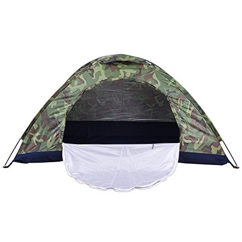 YFXOHAR® 2 Person Waterproof Picnic Camping Portable Waterproof Army Color Tent