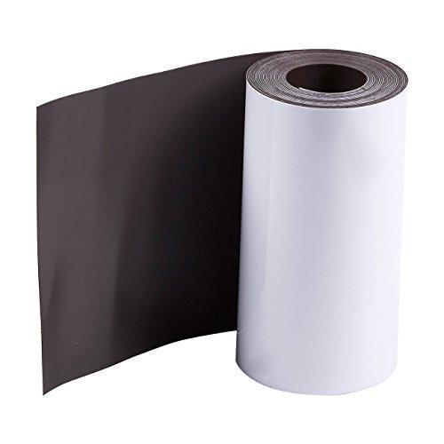 Rotolo di nastro magnetico–riscrivibile lavagna magnetica cancellabile a secco, roll, 10,2cm...