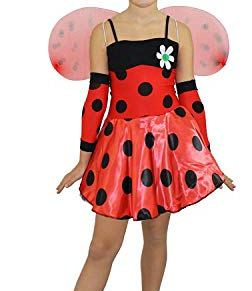 I Love Disfraz niñas Disfraces de Lady Bug