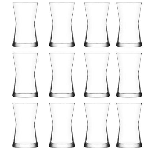 LA&V Lav Derin Highball cocktail bicchieri tumbler–350ml–Confezione da 12bicchieri alti per cocktail