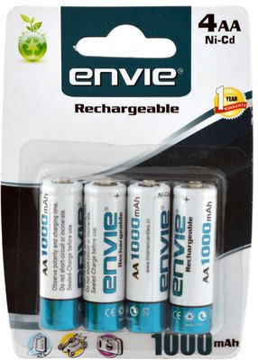 Envie Battery (AA1000 4PL Ni-CD)