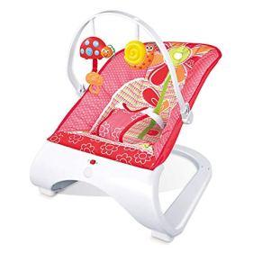 WFHhsxfh Silla Mecedora vibración multifunción for bebé Sonajero extraíble Sonajero Mecedora de Ocio for niños Producto para bebé