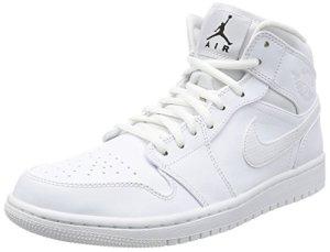 reputable site 821a8 108fa Nike-Mens-Air-Jordan-1-Mid-Basketball-Shoes