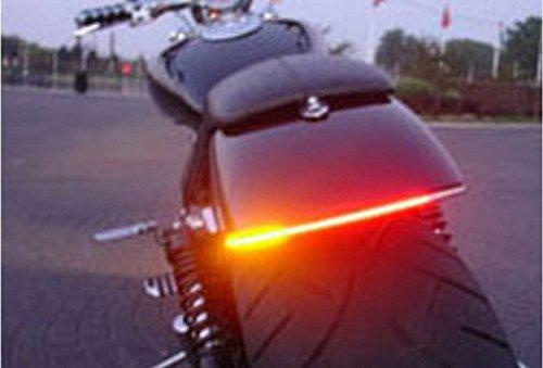 FREESOO 32SMD - Luce targa universale, impermeabile, per moto, con indicazione frenata e direzione,...