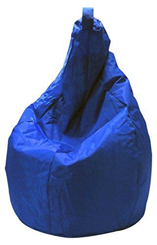 13Casa Nylon A2 Poltrona Sacco, Nylon, Plastica, Blu, 120 x 80 x 80 cm