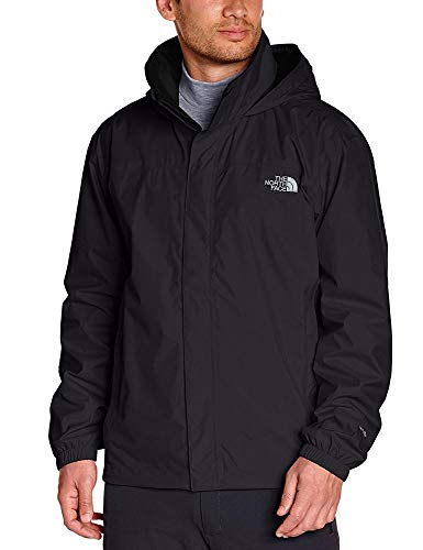 The North Face, M Resolve Jkt, Giacca, Uomo, Nero (Tnf Black), L