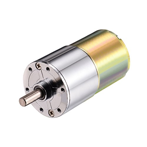 Description:Compact DC Gear Box Motor Combination with 37mm diameter gearbox and has 2 terminal connectors.D shaped shaft with 6mm diameter, 15mm Long.Small size DC Gear Motor with low speed, low noise and high torque.This motor is solidly co...
