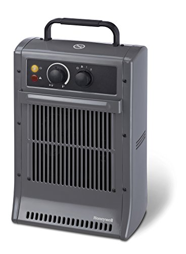 The Honeywell 2.5Kw Heavy Duty Electric Heater is a slightly smaller model than our best pick at 2.5kw but it has all the same features including a metal casing design for durability.