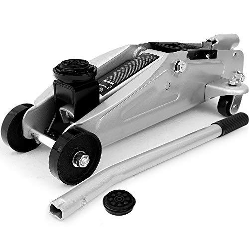 Deuba Hydraulischer Wagenheber Rangierwagenheber | 3 Tonnen | kompakt und stark | roll- und lenkbar | inkl. Gummiauflage - Modellauswahl